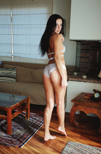 Hot Teen Sultana In White Lingerie