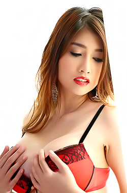 Big Breasted Asian Farsai In Hot Lingerie