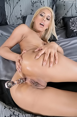 Demi Lopez Toying Her Pussy With Dildo