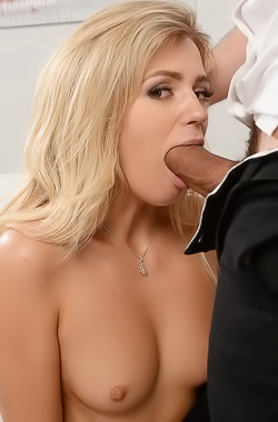 Mary Kalisy Gets Fucked In The Office