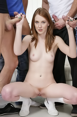 Linda Sweet In Her First Gangbang