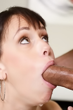 Alana Cruise Throating Fat And Long Dick