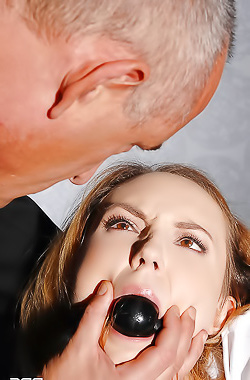 Schoolgirl Nataly Bound And Gagged!