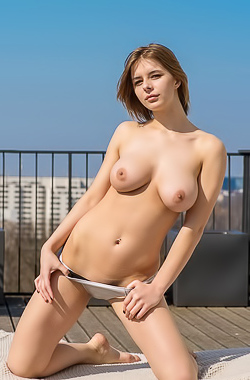 Yelena - Her neighbors love it when she plays with watermelon